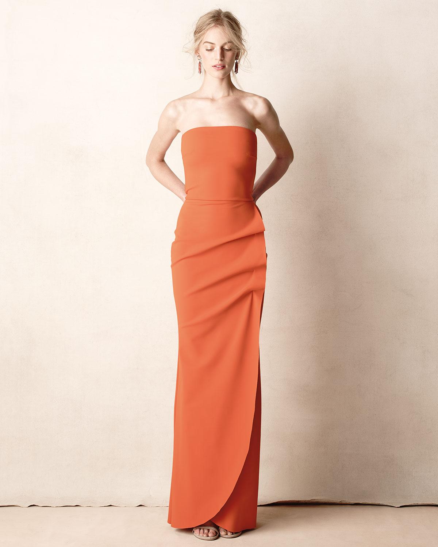 Lyst - La Petite Robe Di Chiara Boni Clotilde Sleeveless Long Gown ...