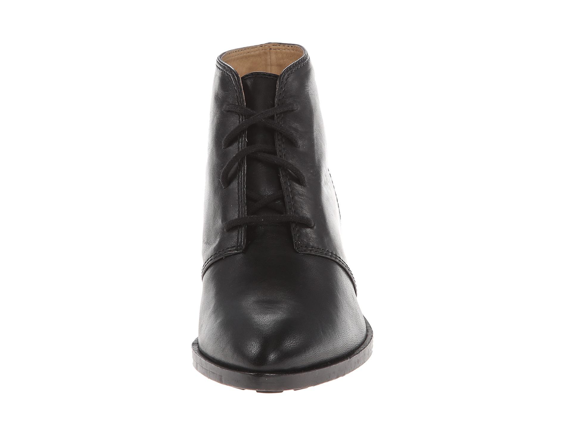 Frye Leather Ruby Chukka In Black Lyst