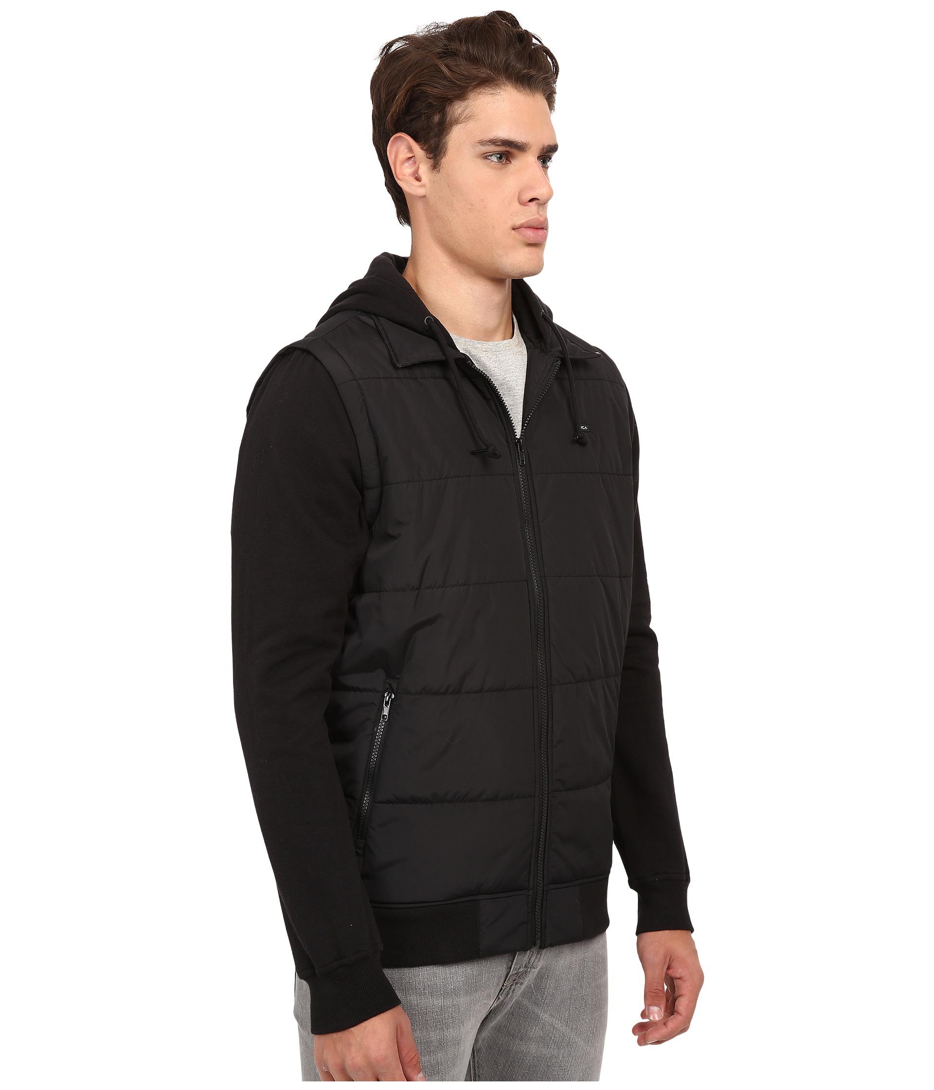 RVCA Mens Puffer Zips Jackets