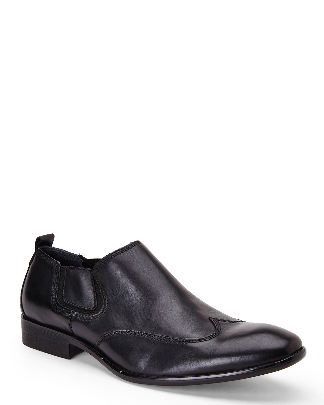 guess black robbins dress shoes in black for lyst