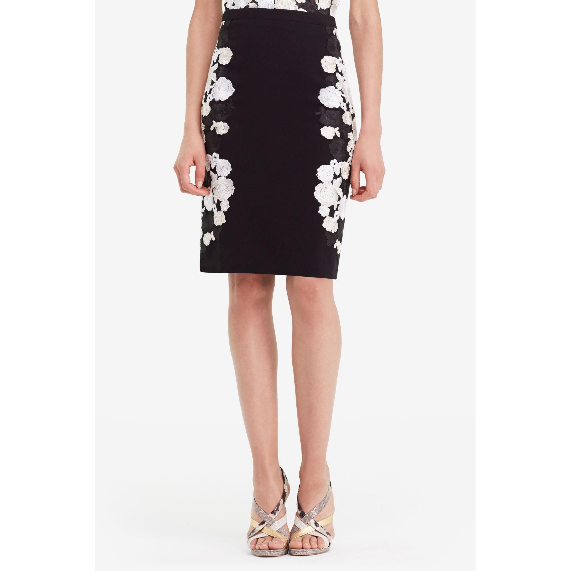 floral pencil skirt - photo #48