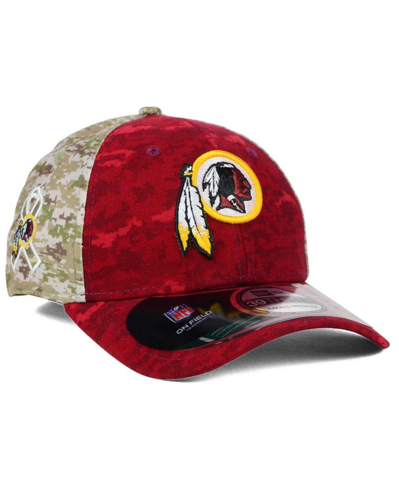 Lyst - KTZ Washington Redskins Salute To Service 39thirty Cap in ... cf92d32d4