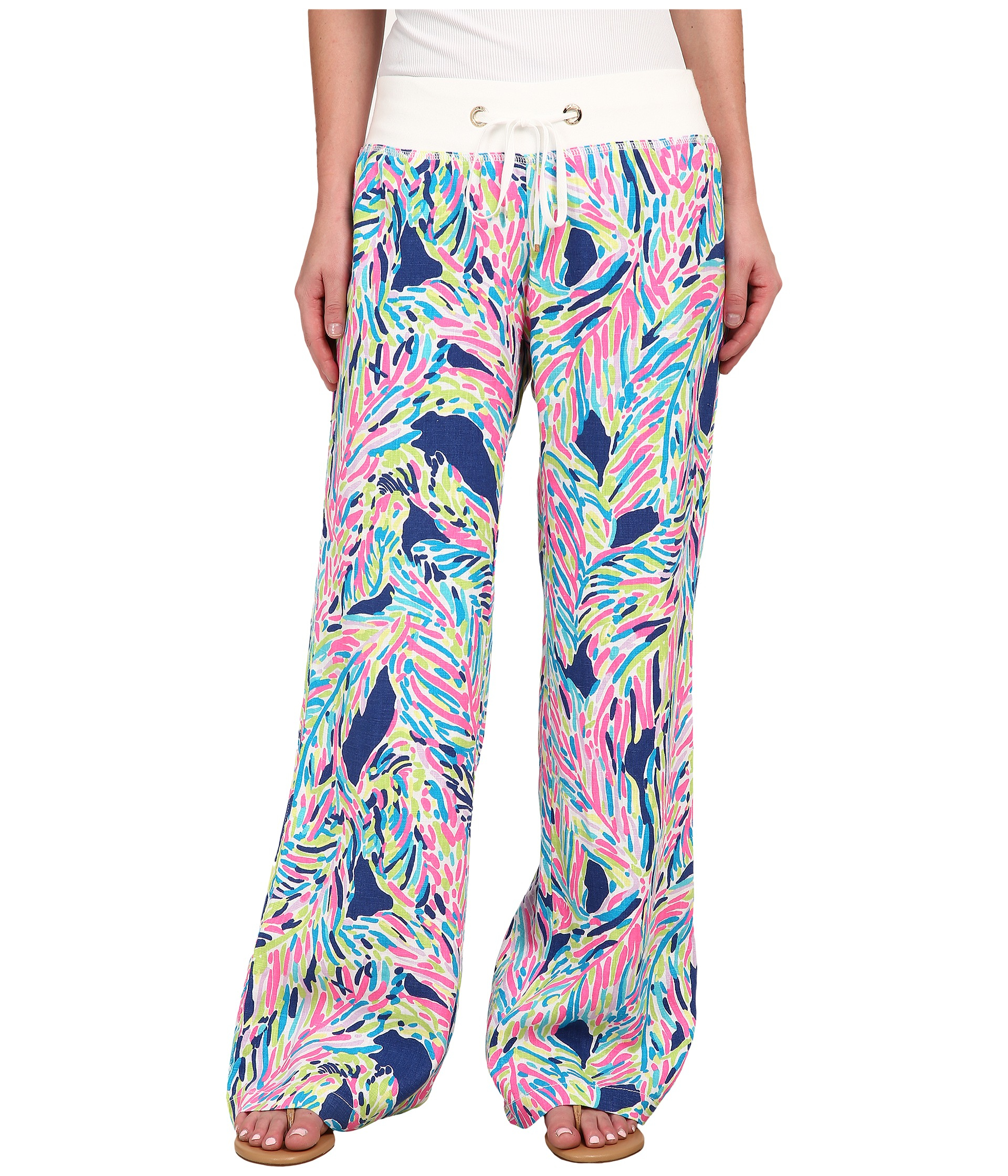 Lyst Lilly Pulitzer Beach Pants In Blue