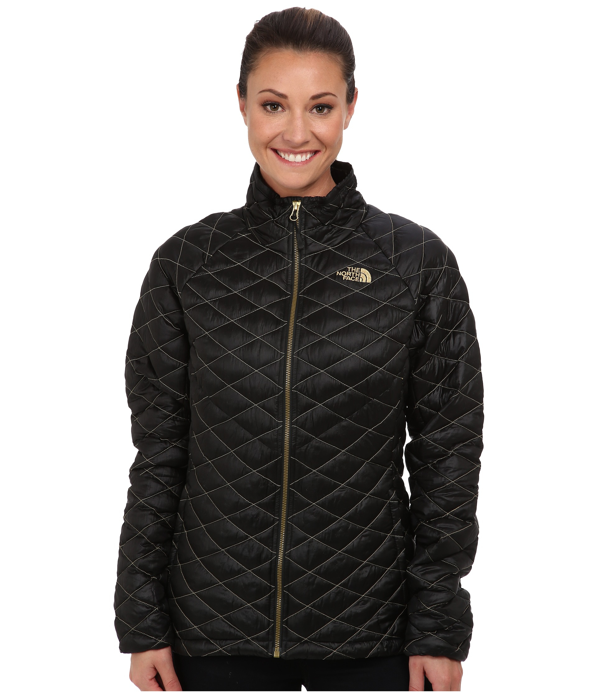 90c1285b3e0b Lyst - The North Face Thermoball™ Full Zip Jacket in Black