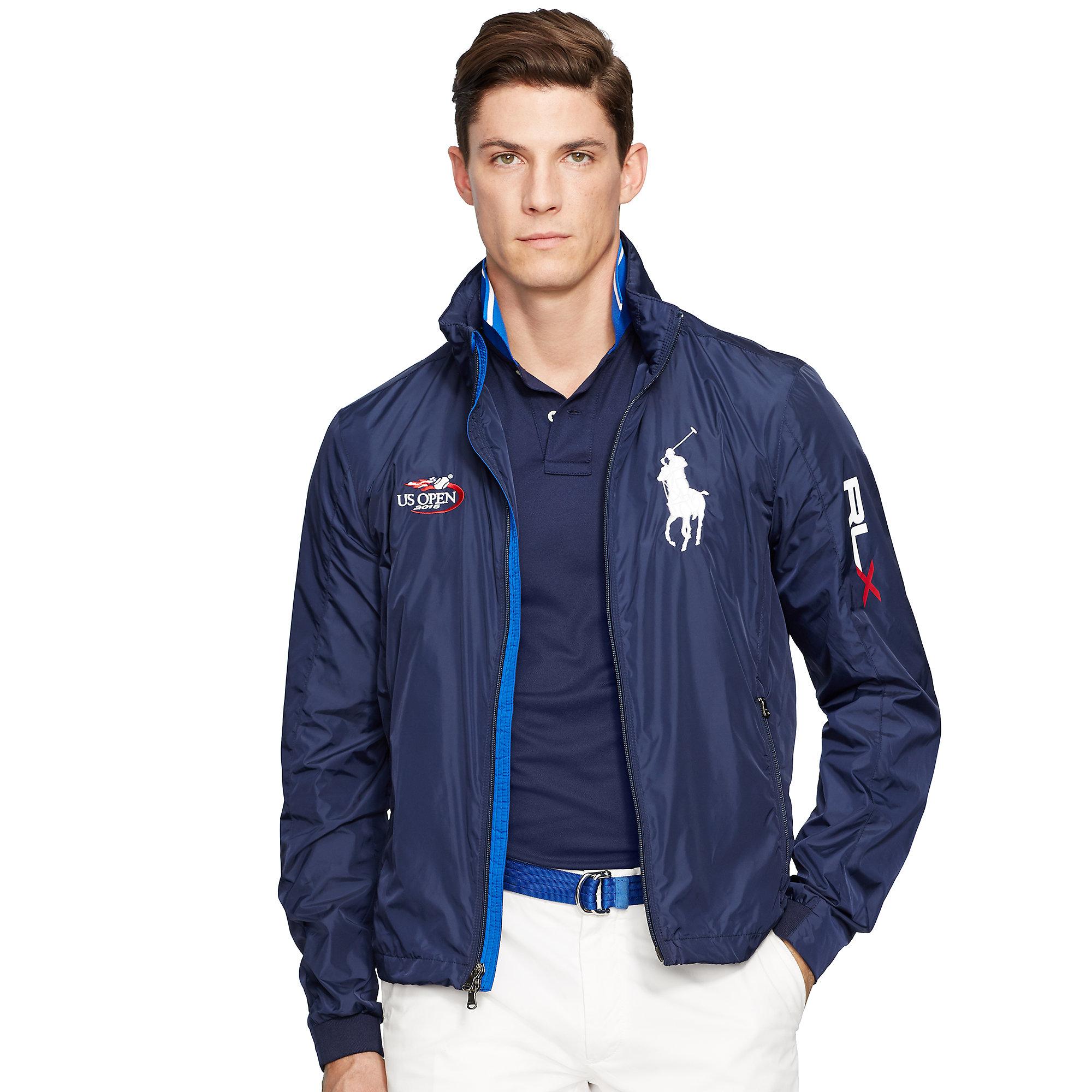 Us Men Blue Open Ralph Lauren Jacket Linesman For BshQrotCxd