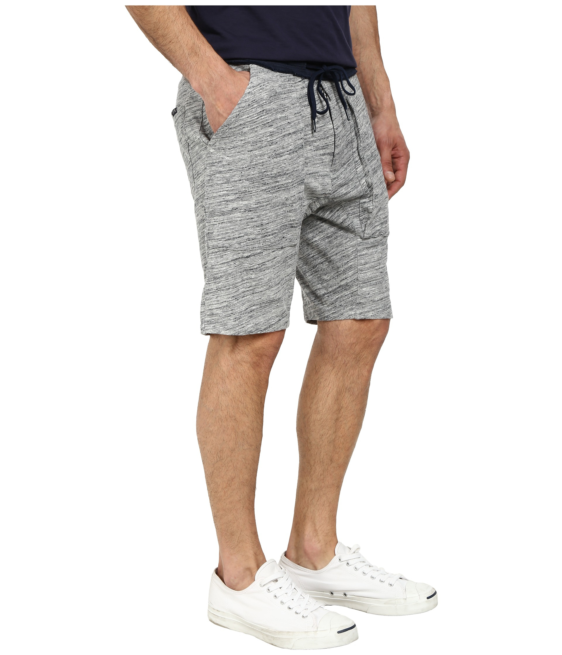 Fantastic Men39s Star Print Denim Jogger Shorts JC383  GStyleUSAcom