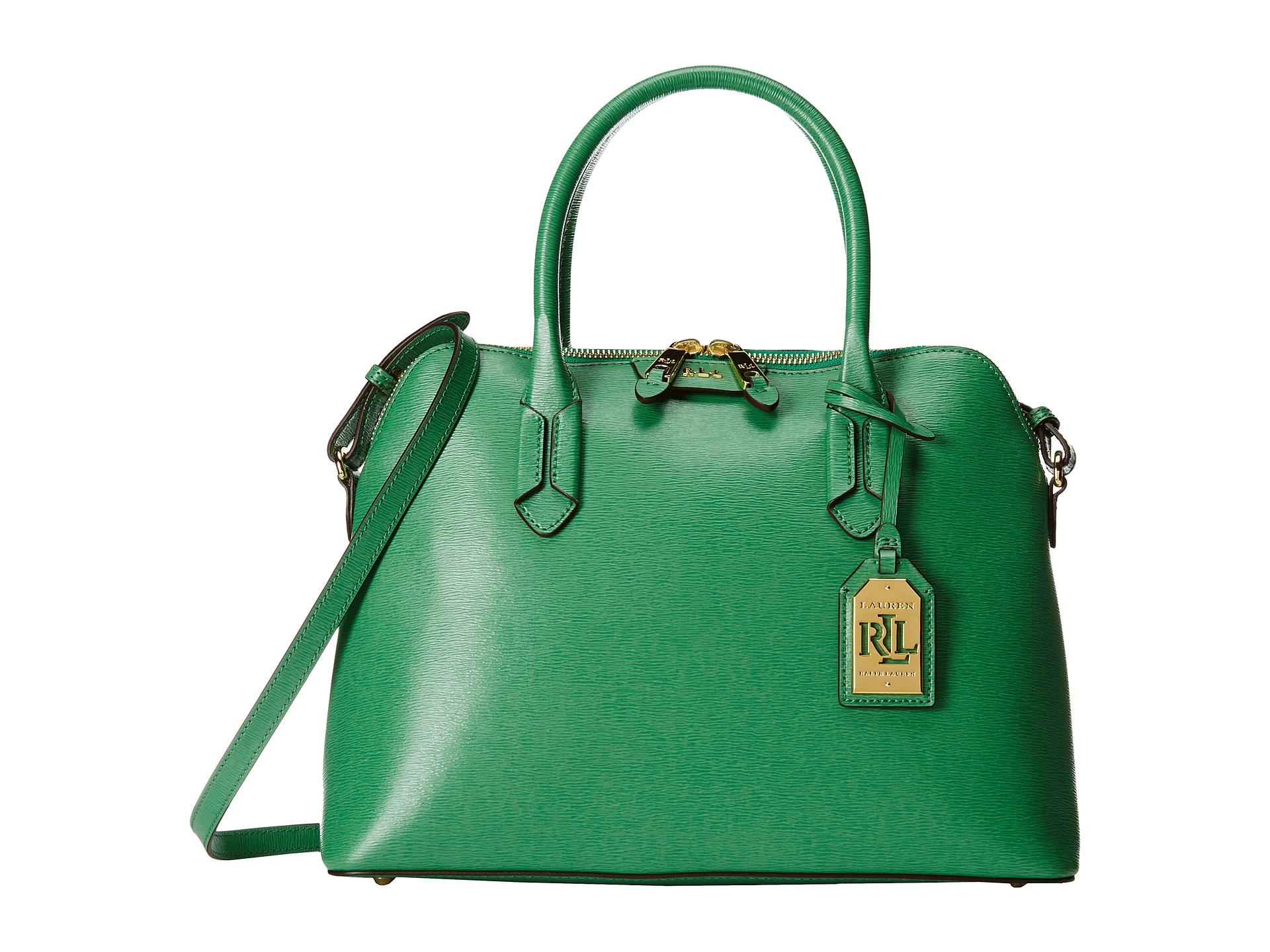 Ralph Lauren Tate Dome Satchel Laukku : Lauren by ralph tate dome satchel in green fern