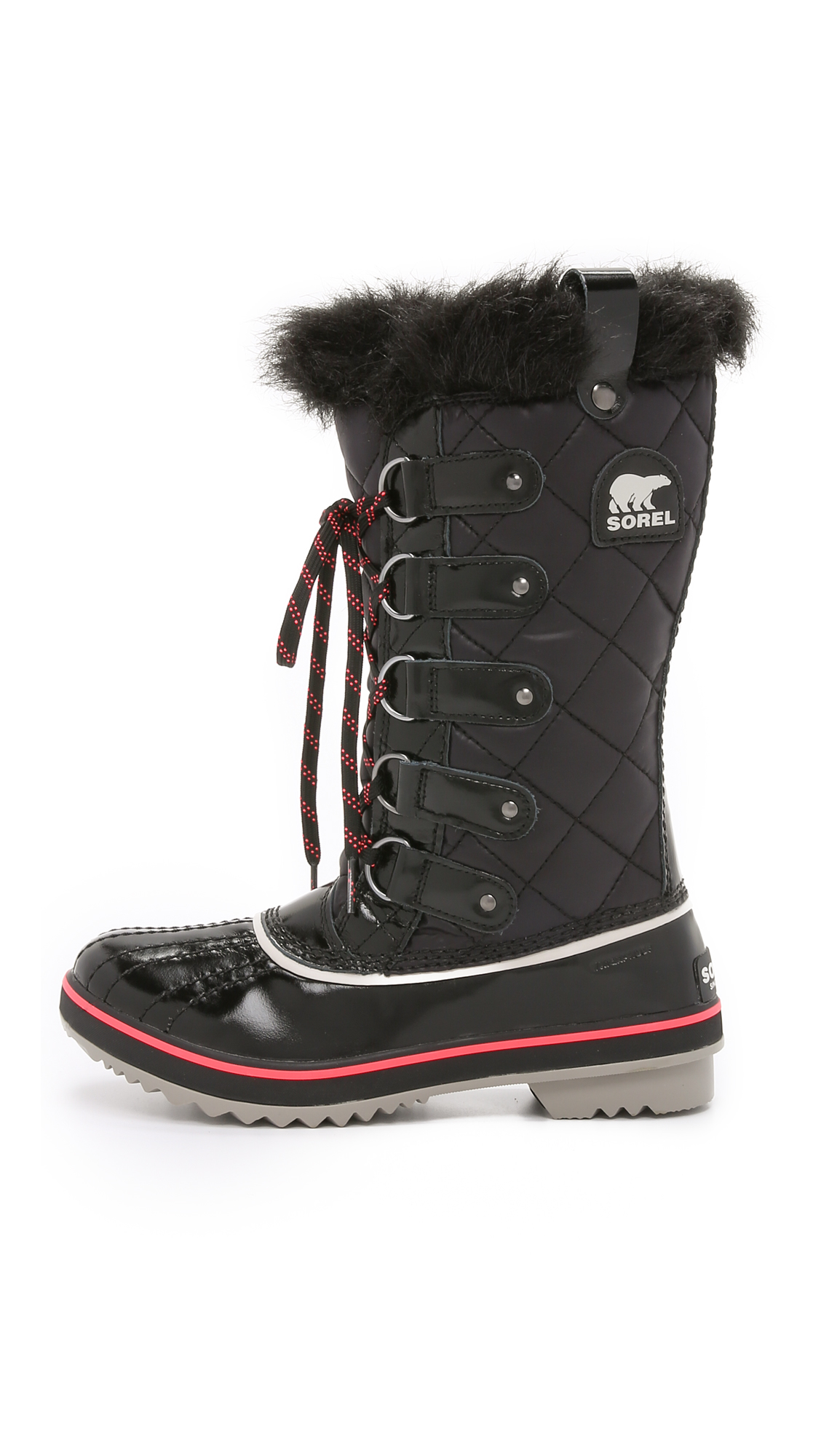 Sorel Tofino Quilted Water-Resistant Boots in Black
