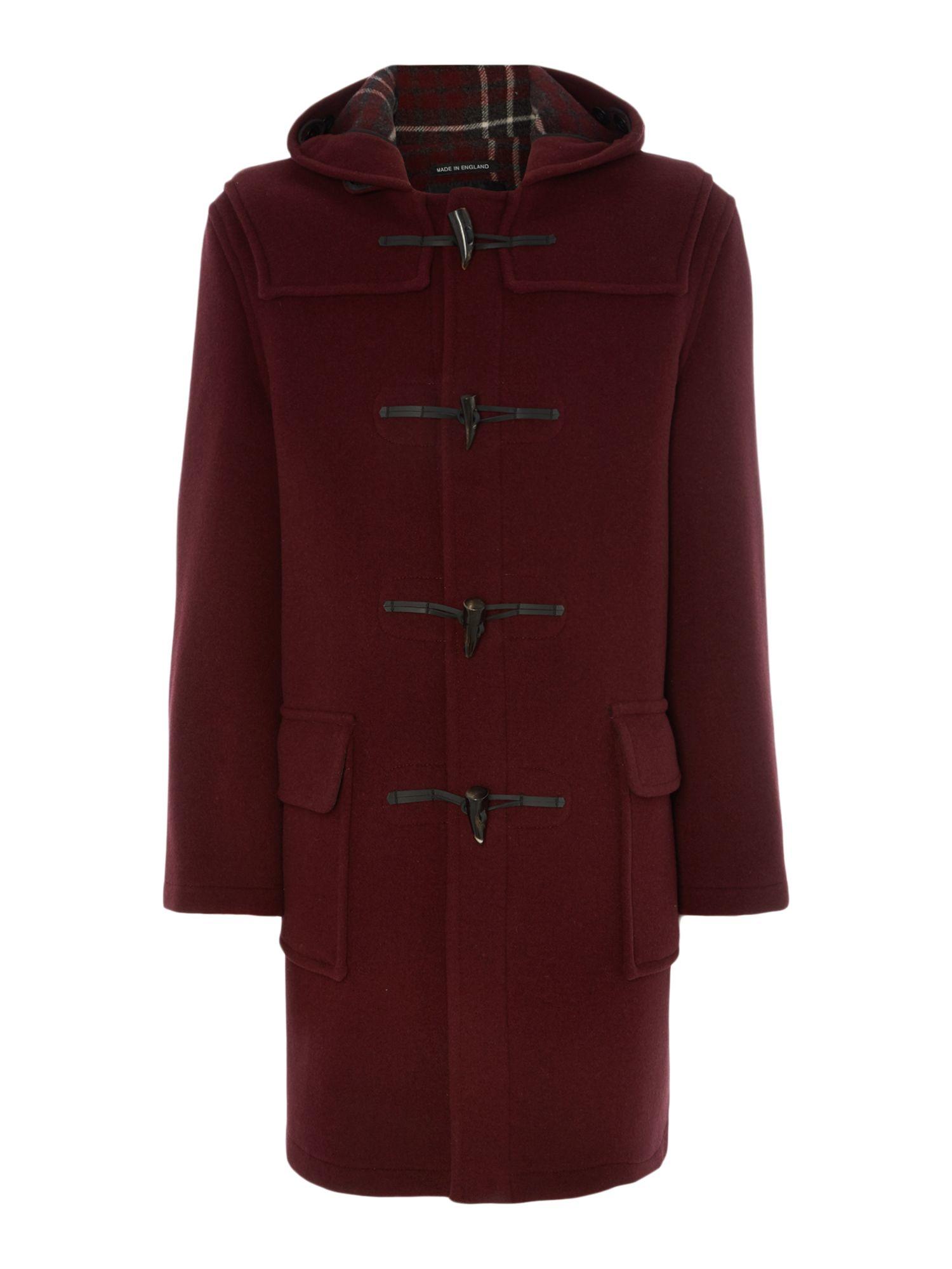 Gloverall Classic Duffle Coat in Purple for Men (Burgundy ...