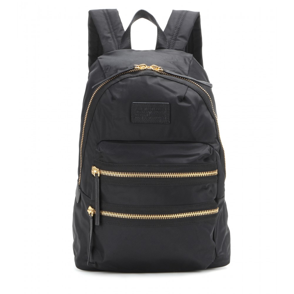lyst marc by marc jacobs packrat backpack in black. Black Bedroom Furniture Sets. Home Design Ideas