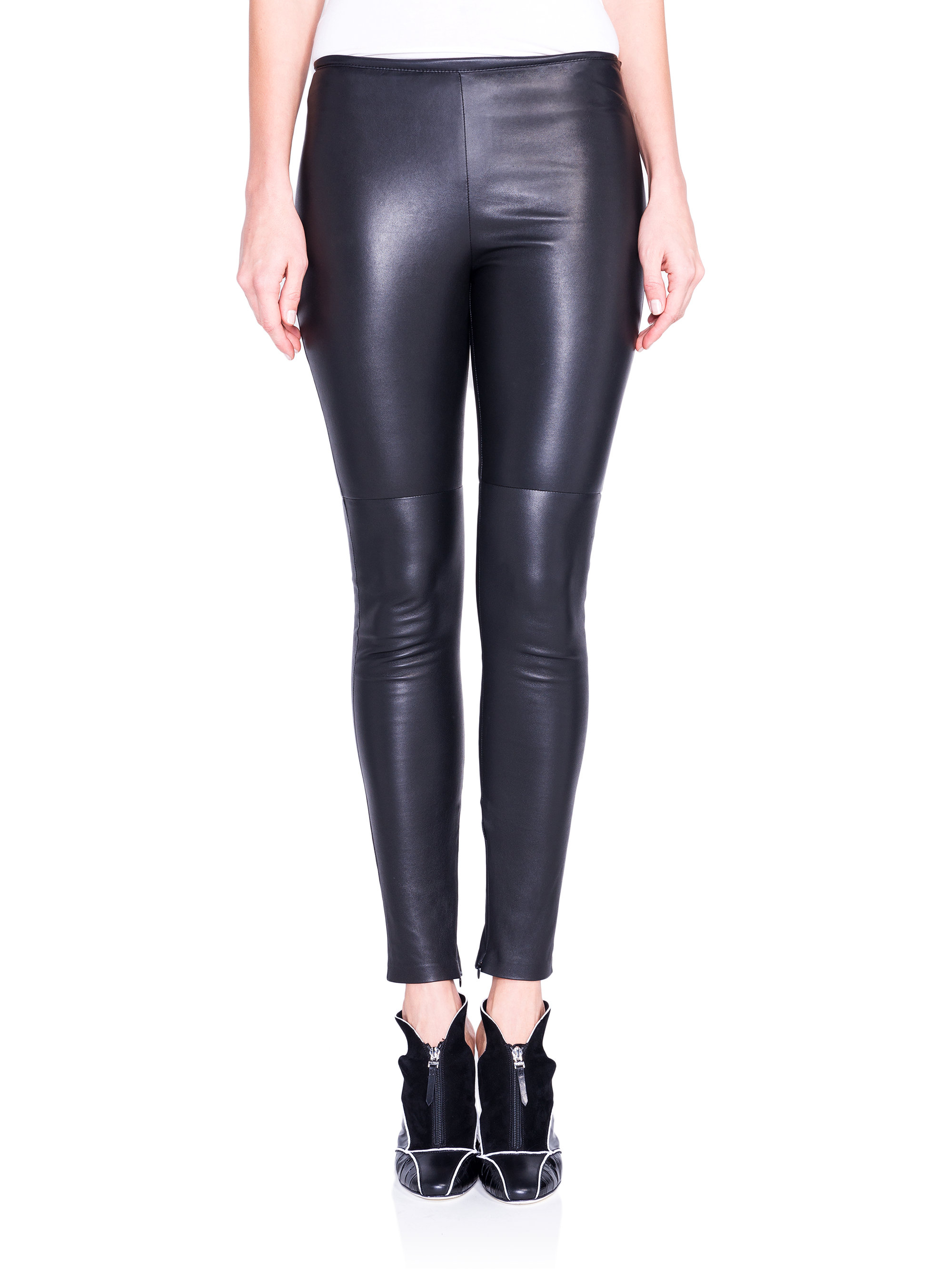 2f45c93295b Gallery. Previously sold at: Saks Fifth Avenue · Women's Leather Leggings