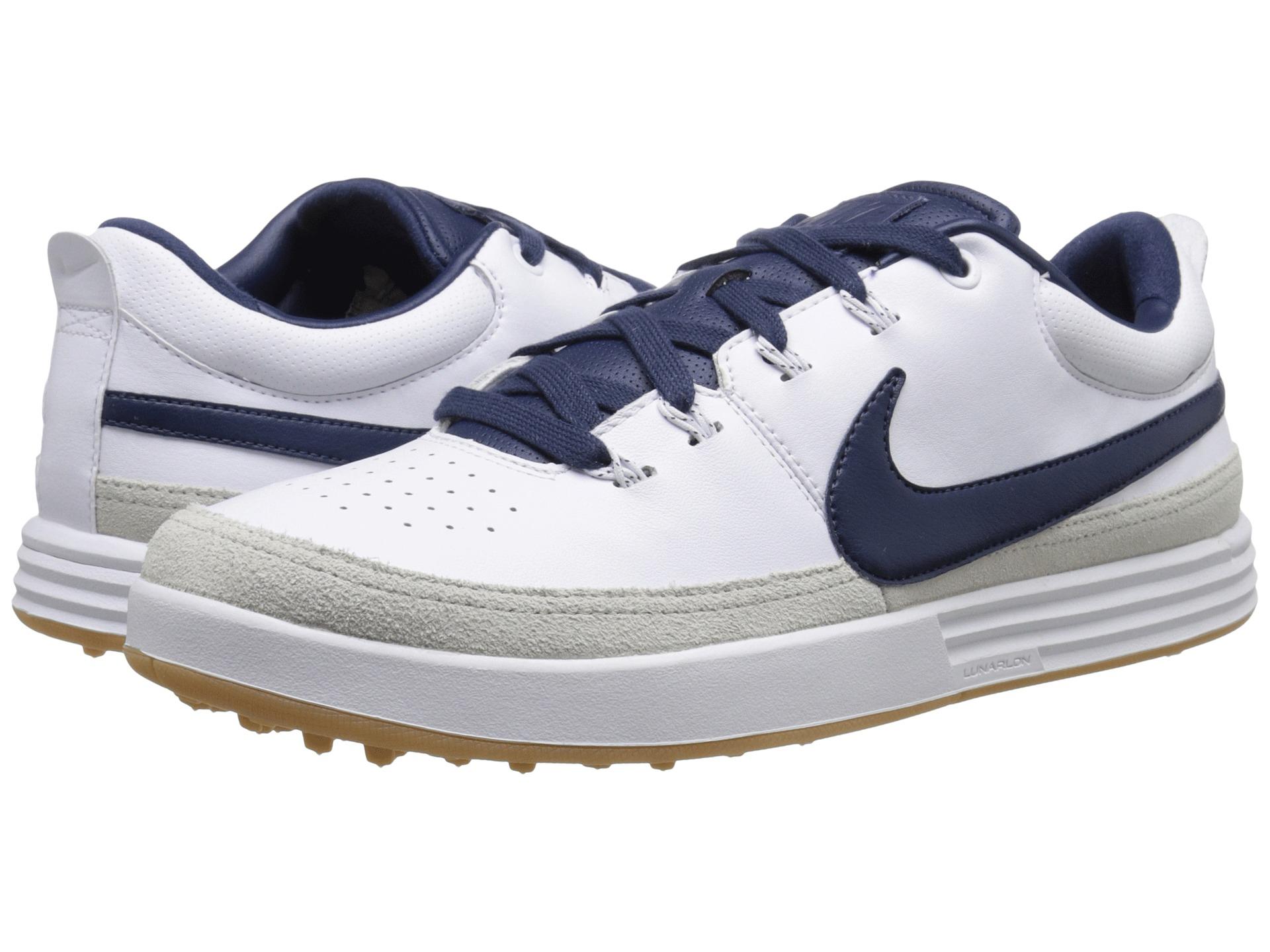 Nike Lunar Waverly Golf Shoes White