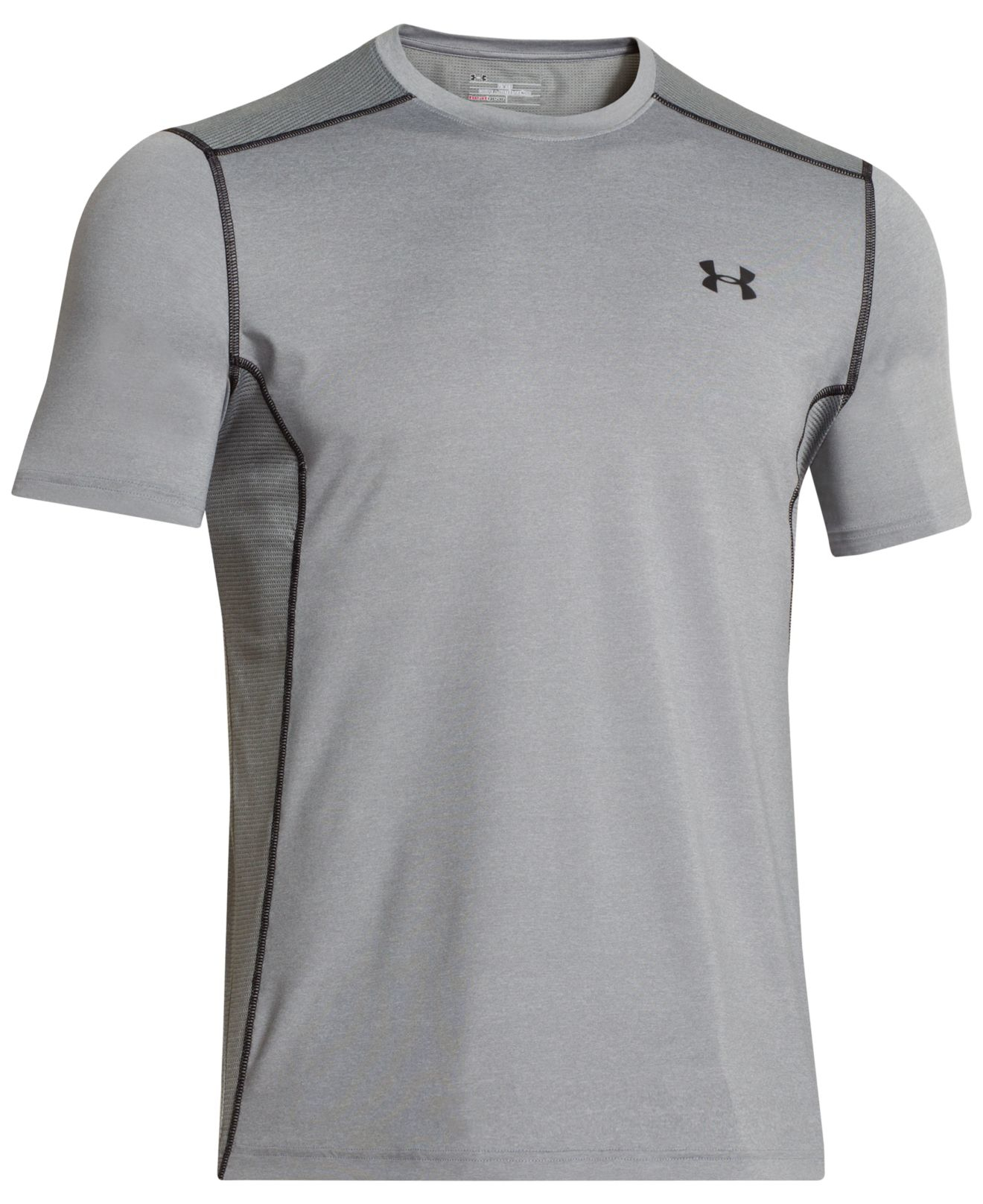 Under Armour Men 39 S Heatgear Raid Fitted T Shirt In Green