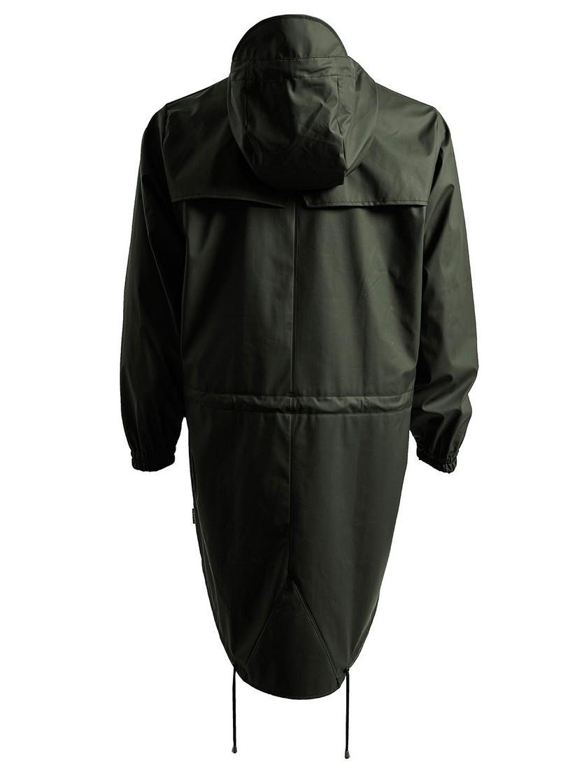 Rains Fishtail Parka Jacket in Green for Men