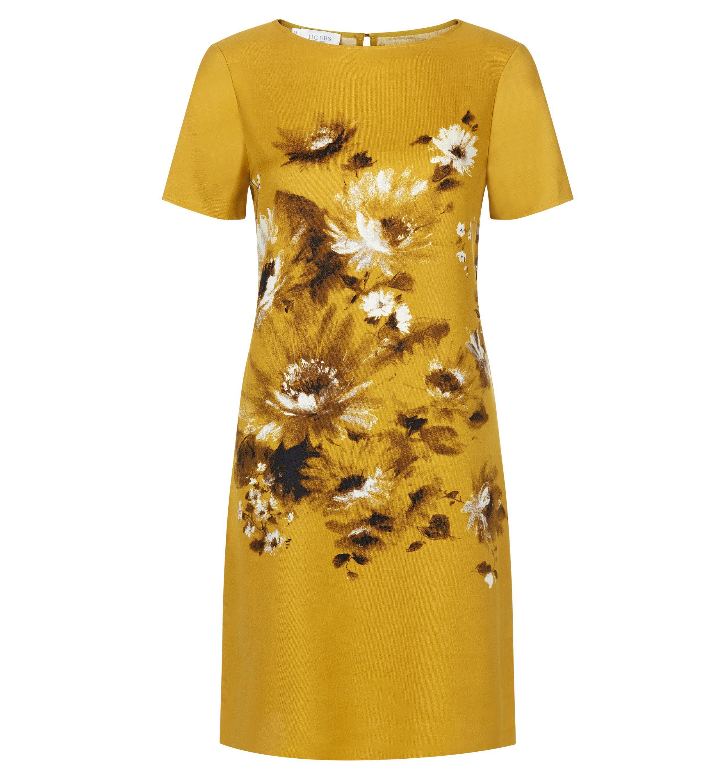Hobbs Summer Bouquet Dress In Floral Yellow Lyst