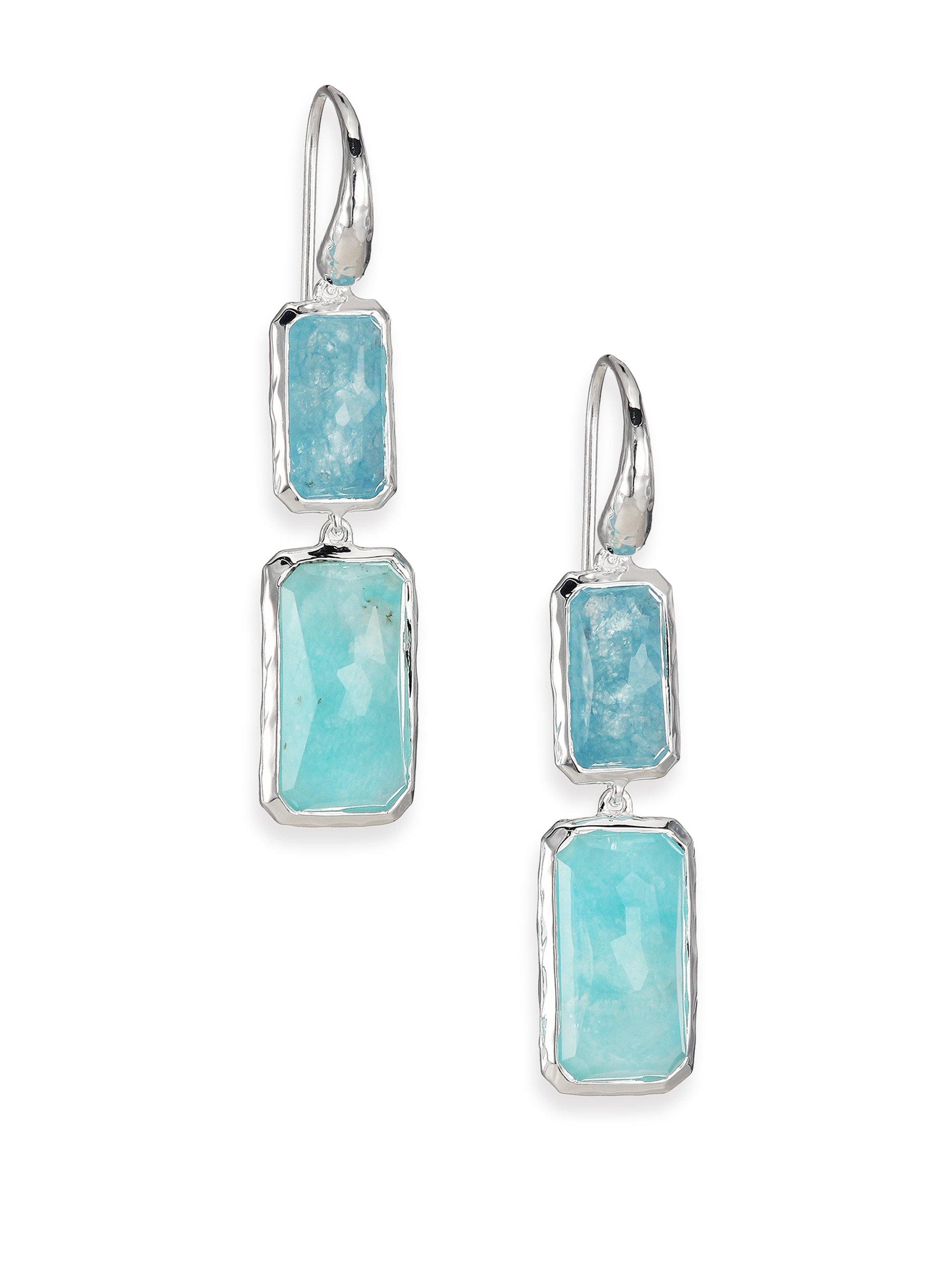 97ab738a9 Ippolita Rock Candy Larimar, Aquamarine & Sterling Silver Two-stone ...