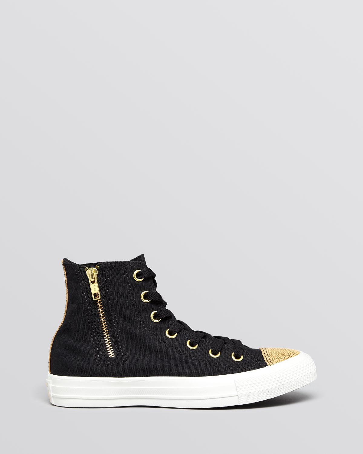 8b2e6e8bd0f96c Lyst - Converse Lace Up High Top Sneakers Chuck Taylor All Star Side ...