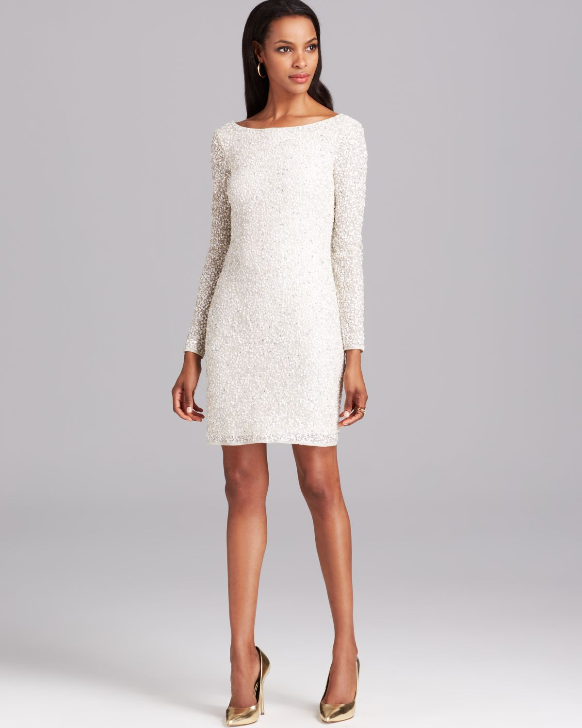 White Cocktail Dress 51