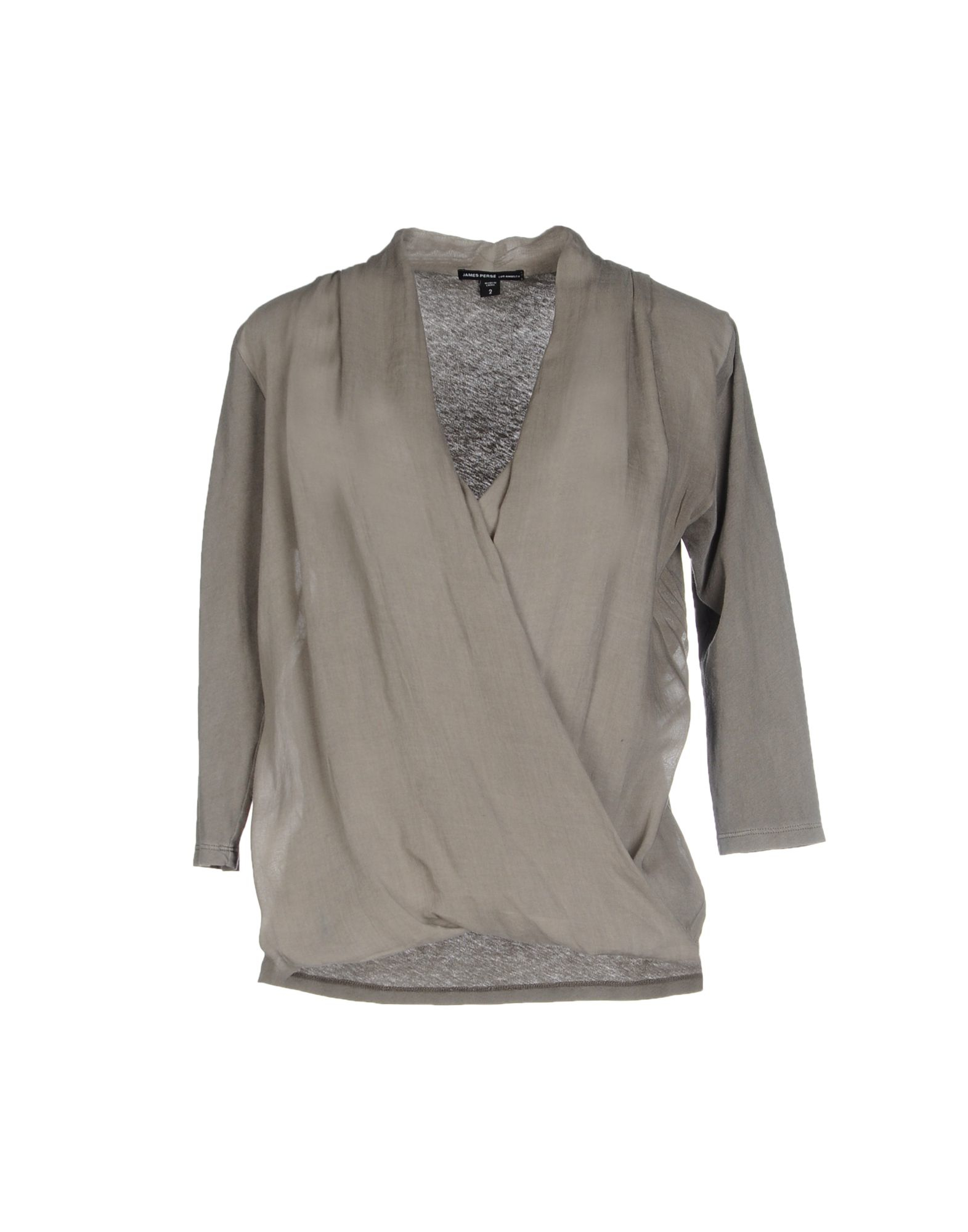 James perse t shirt in natural lyst for James perse t shirts sale