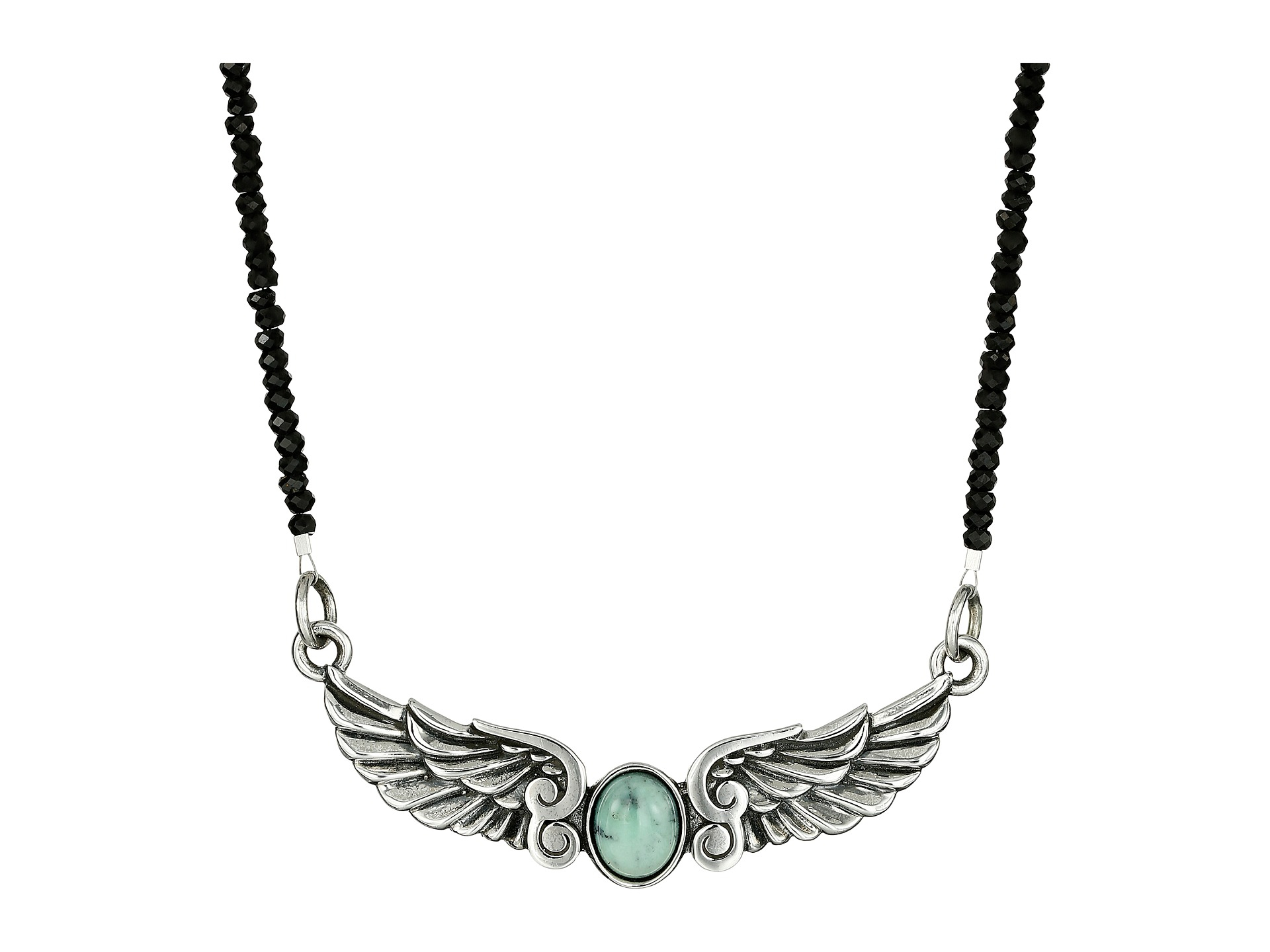 item winged expand turquoise spencer eagle to click harry necklace full sterling silver
