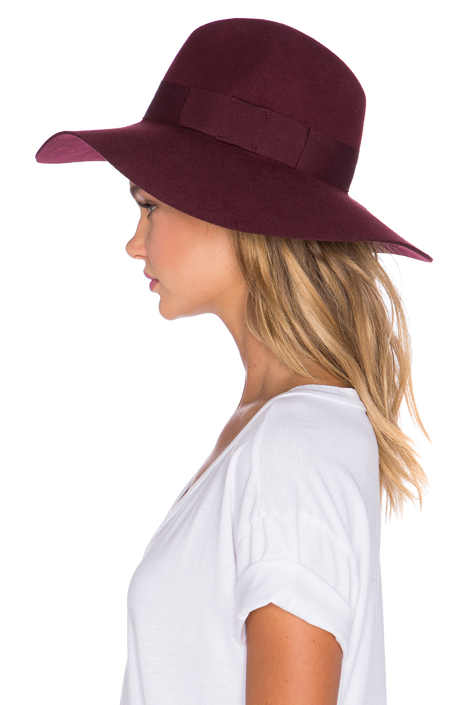 fb1c7964aa85 Brixton Piper Hat in Red - Lyst