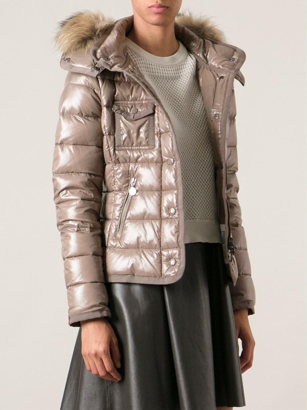 eff874cf8 Moncler Brown Armoise Jacket