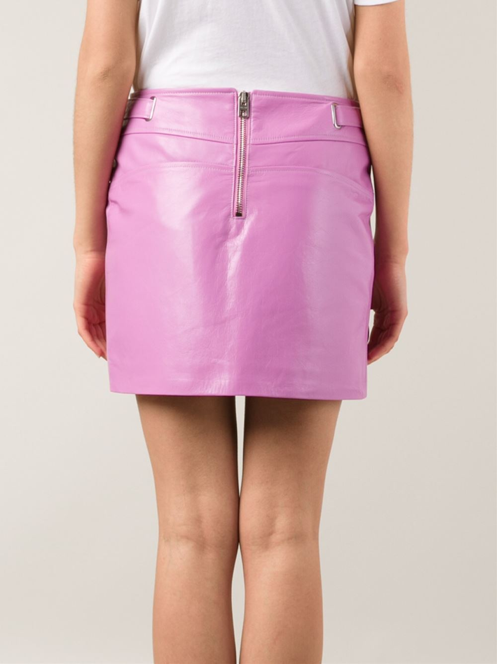 COACH X Gary Baseman Skirt in Pink & Purple (Pink)
