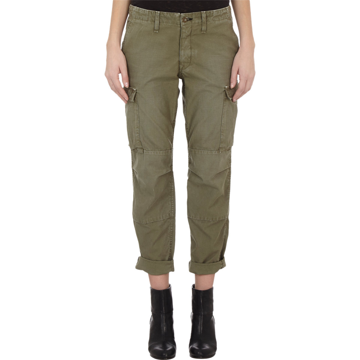 Awesome Nsf Clothing Green Women S Basquiat Cargo Pants 250 From Barneys New