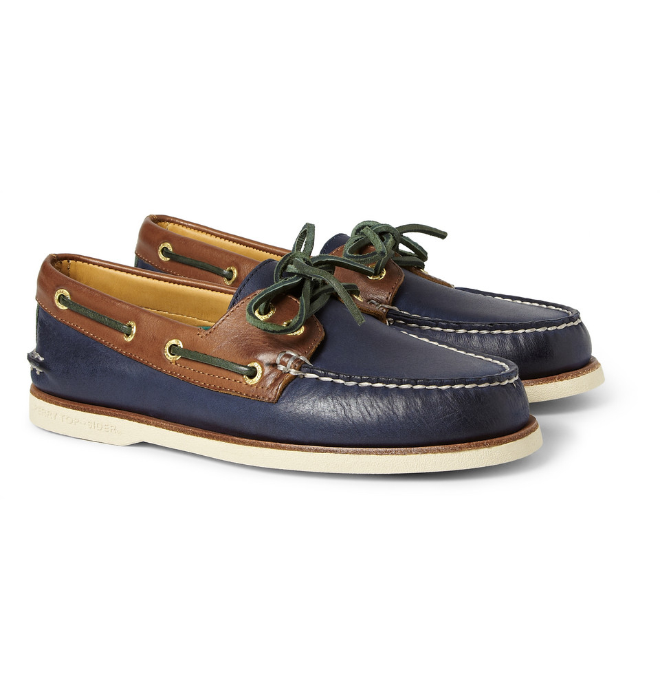Blue Sperry Shoes