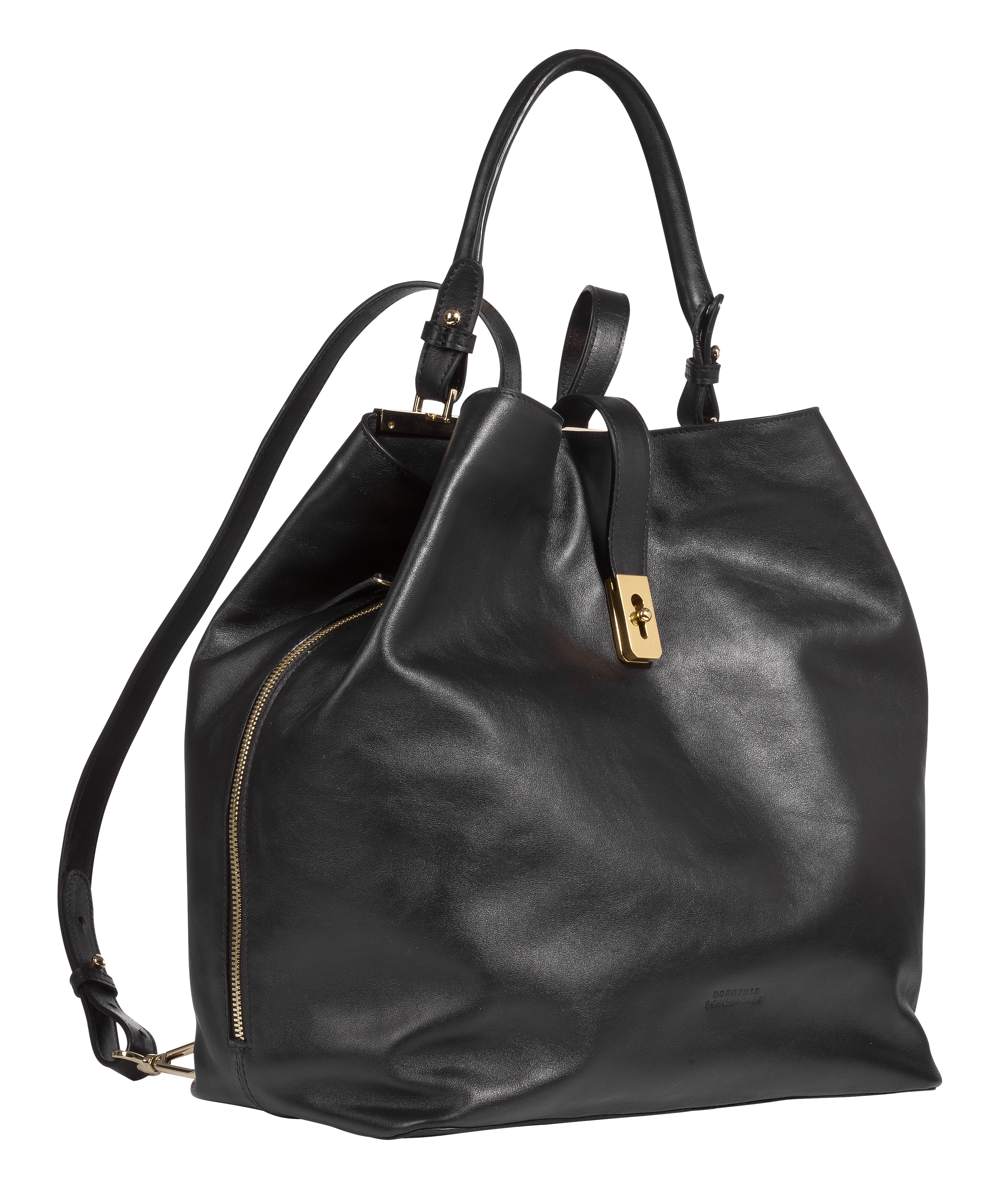 dorothee schumacher cool edge backpack in black lyst. Black Bedroom Furniture Sets. Home Design Ideas