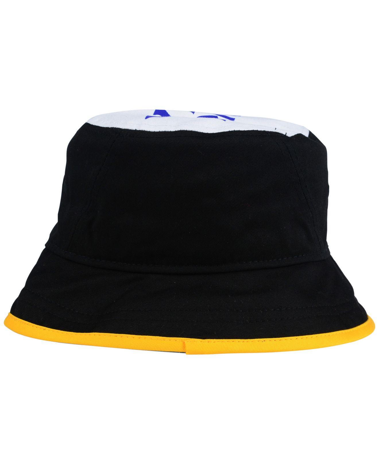 Lyst - KTZ Pittsburgh Steelers Traveler Bucket Hat in Black for Men ebe242d26