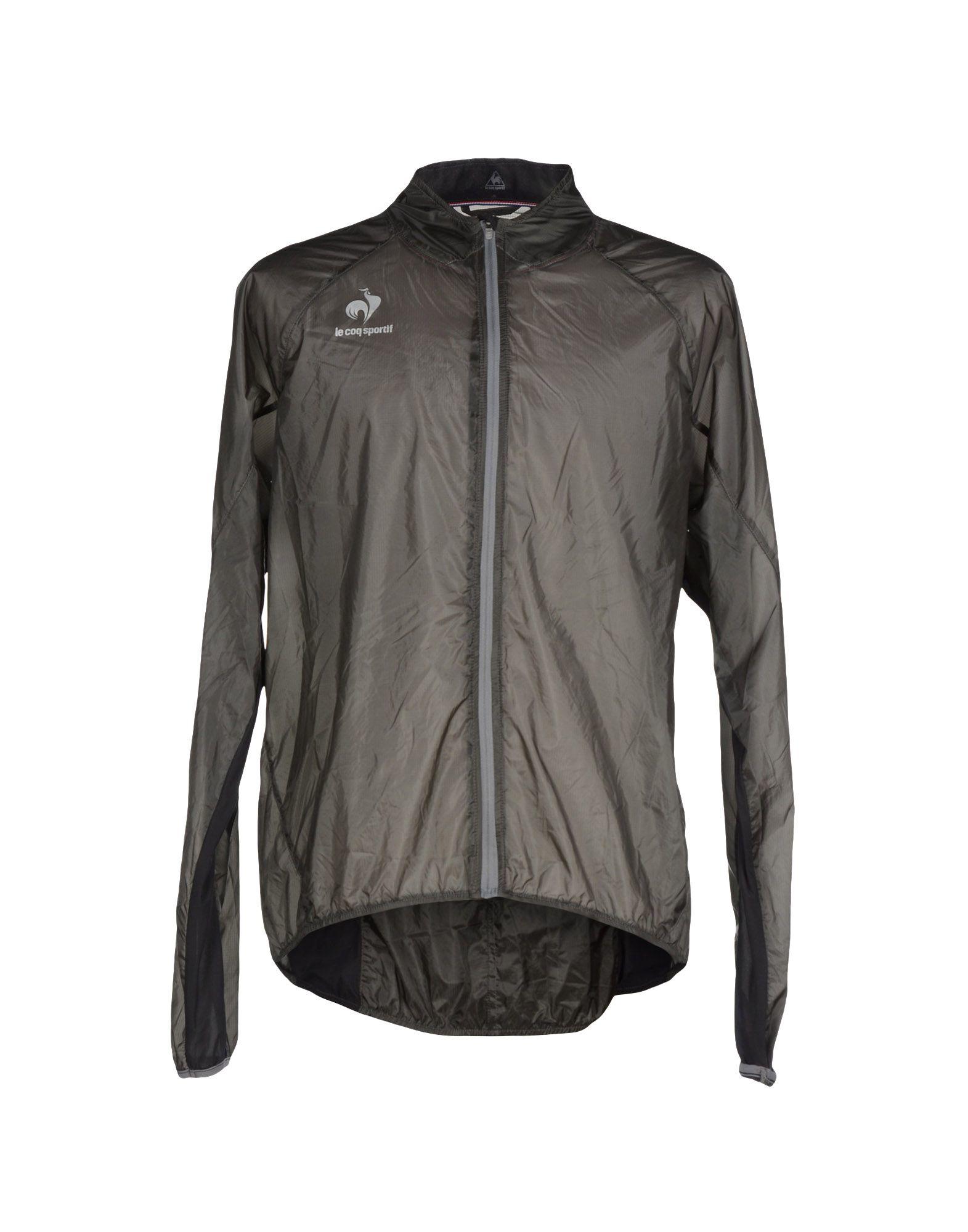 le coq sportif jacket in gray for men lyst. Black Bedroom Furniture Sets. Home Design Ideas