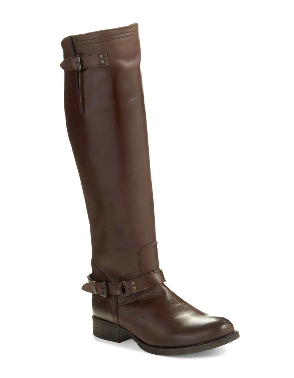 steve madden rex boots in brown lyst