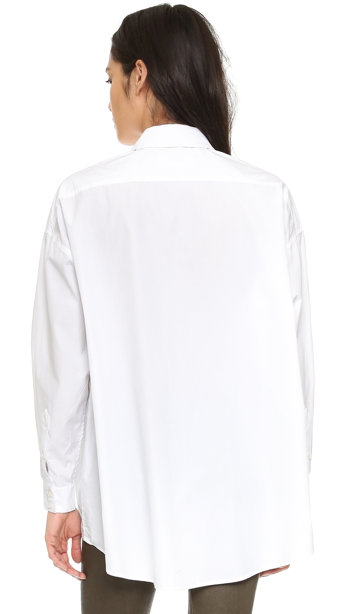 The Great The Big Shirt In White Lyst