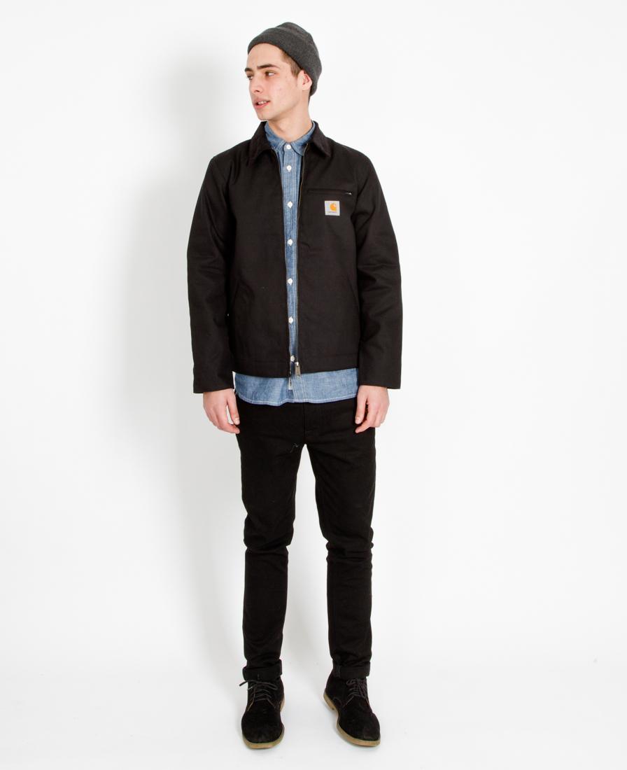 Lyst Carhartt Wip Detroit Jacket Black In Black For Men
