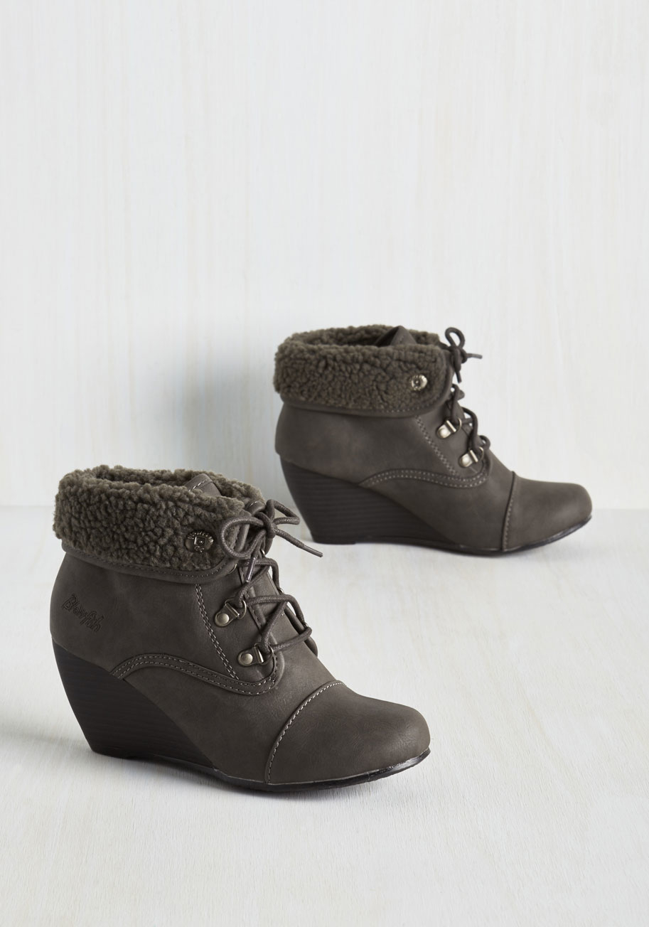 Blowfish Llc Stride For Success Bootie In Brown Lyst