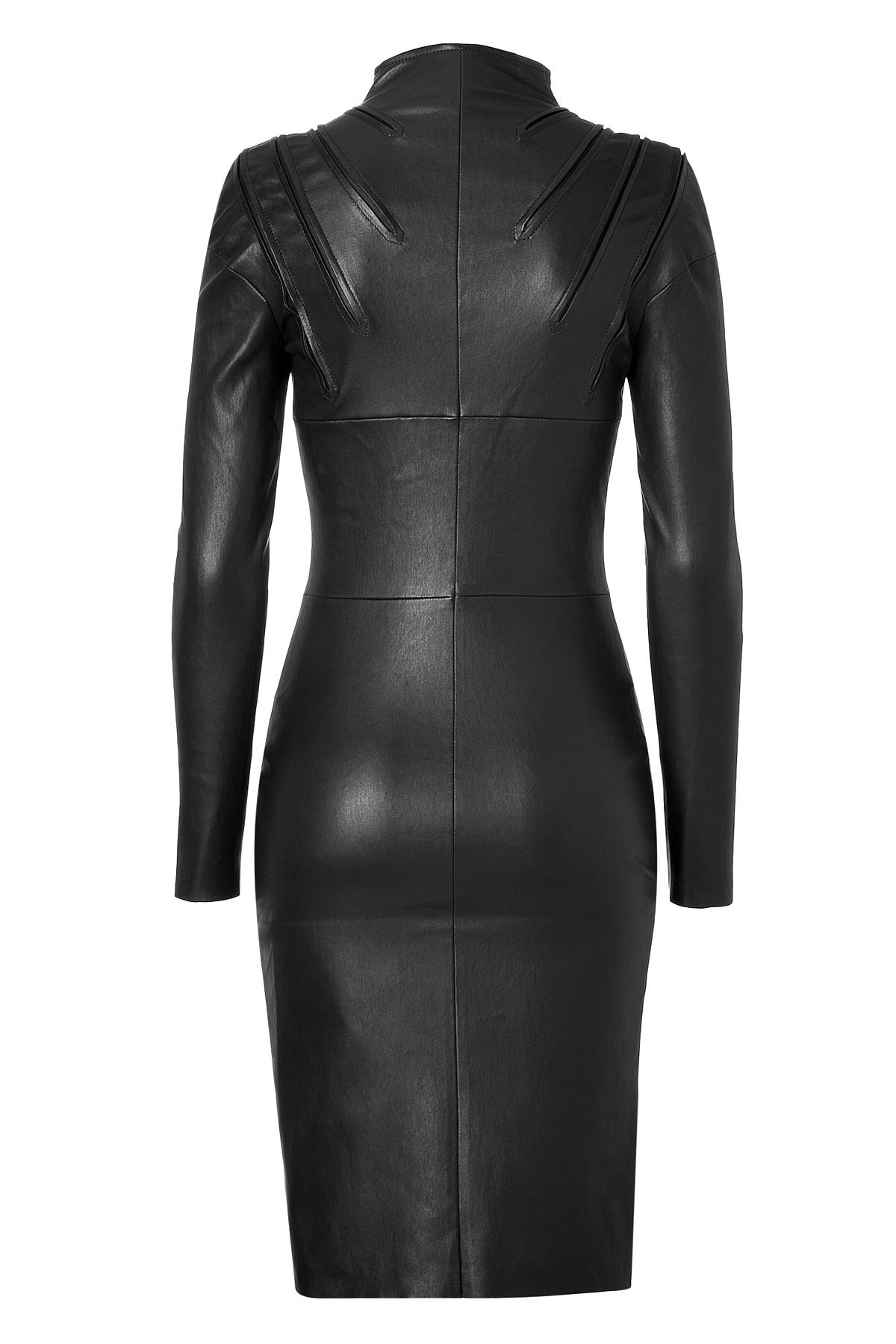 image 2 leathered jitrois dress sluts upskirt amp teasing driver car