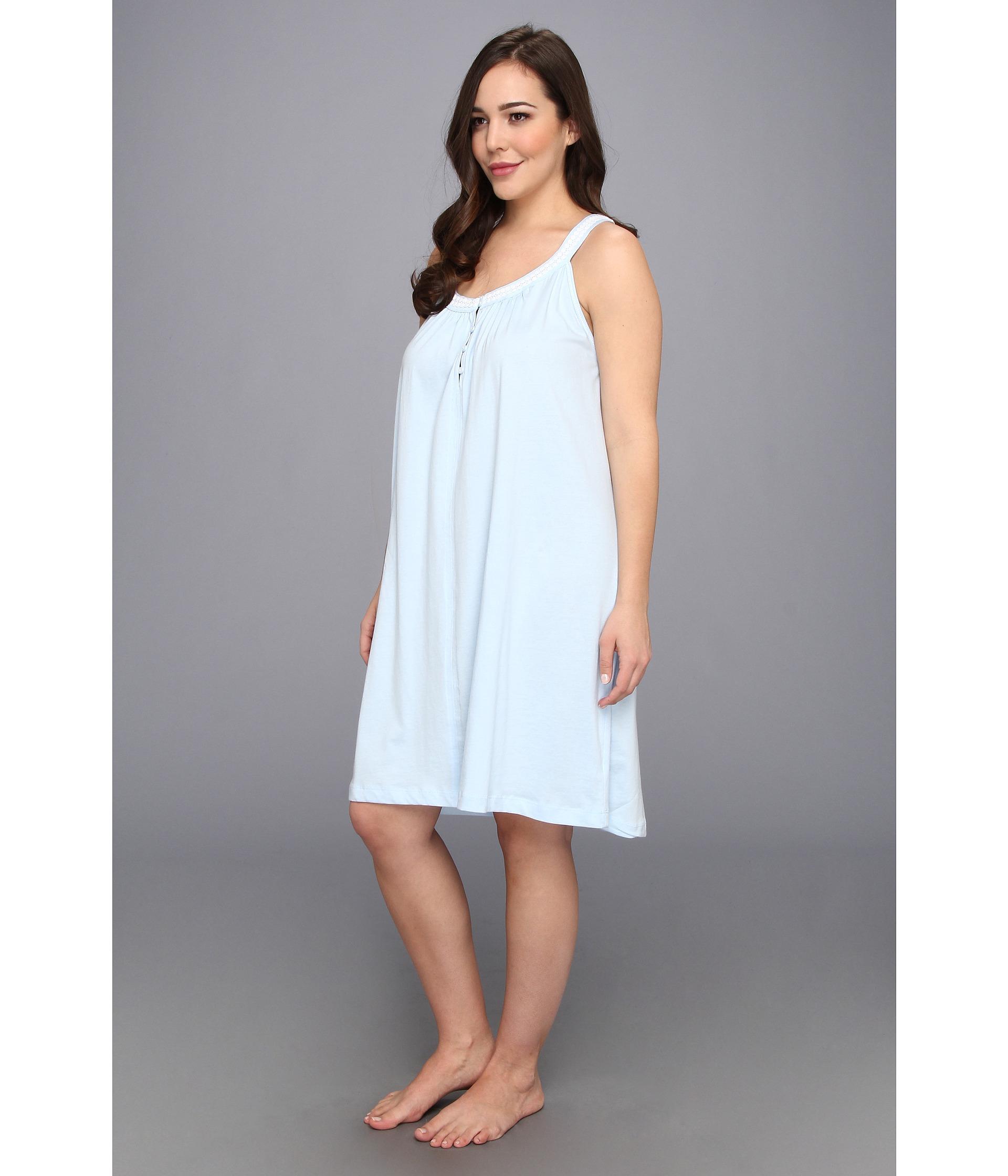 Plus Size Cotton Jersey Nightgowns | Lauren Goss