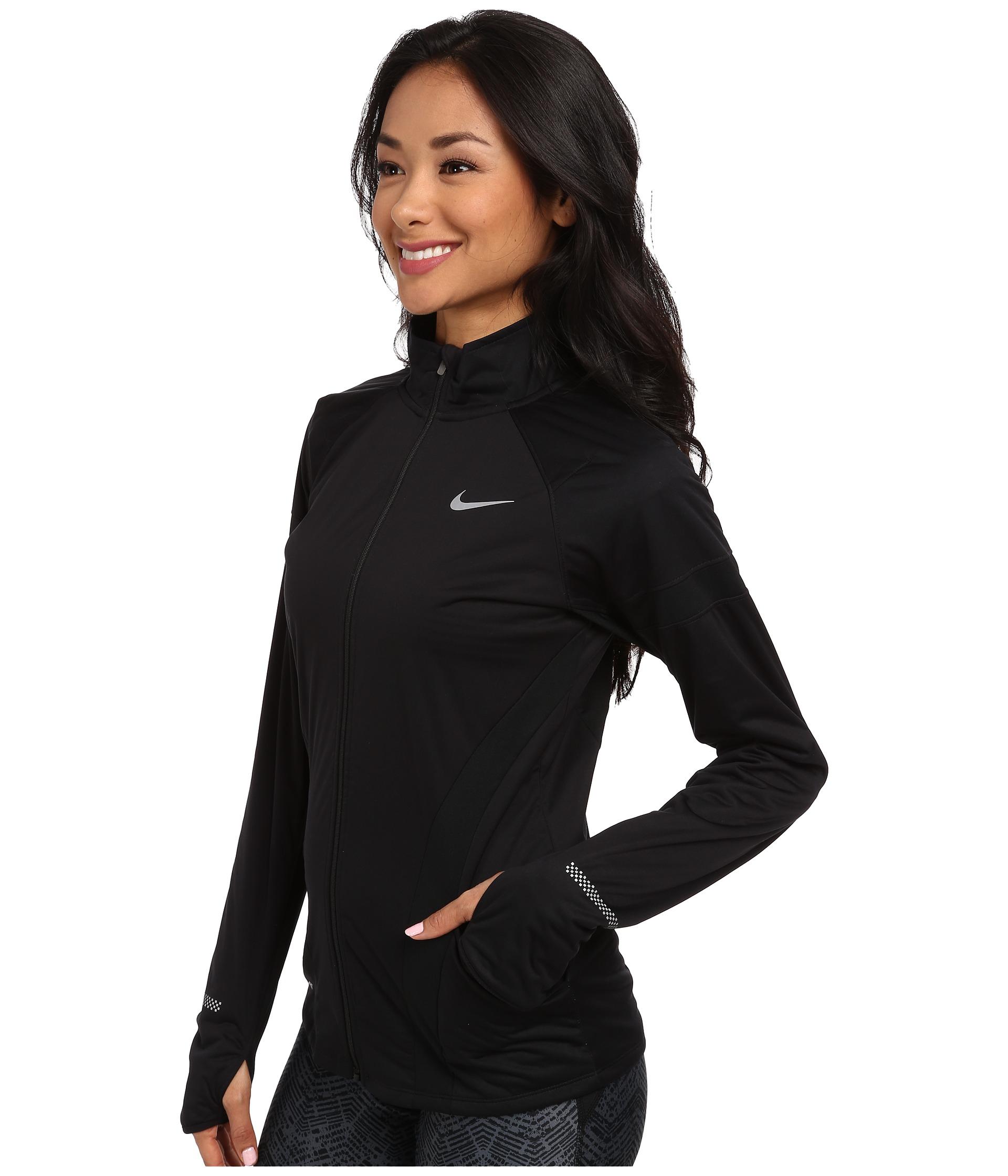 df8e054197 Lyst - Nike Element Shield Full-Zip Jacket in Black