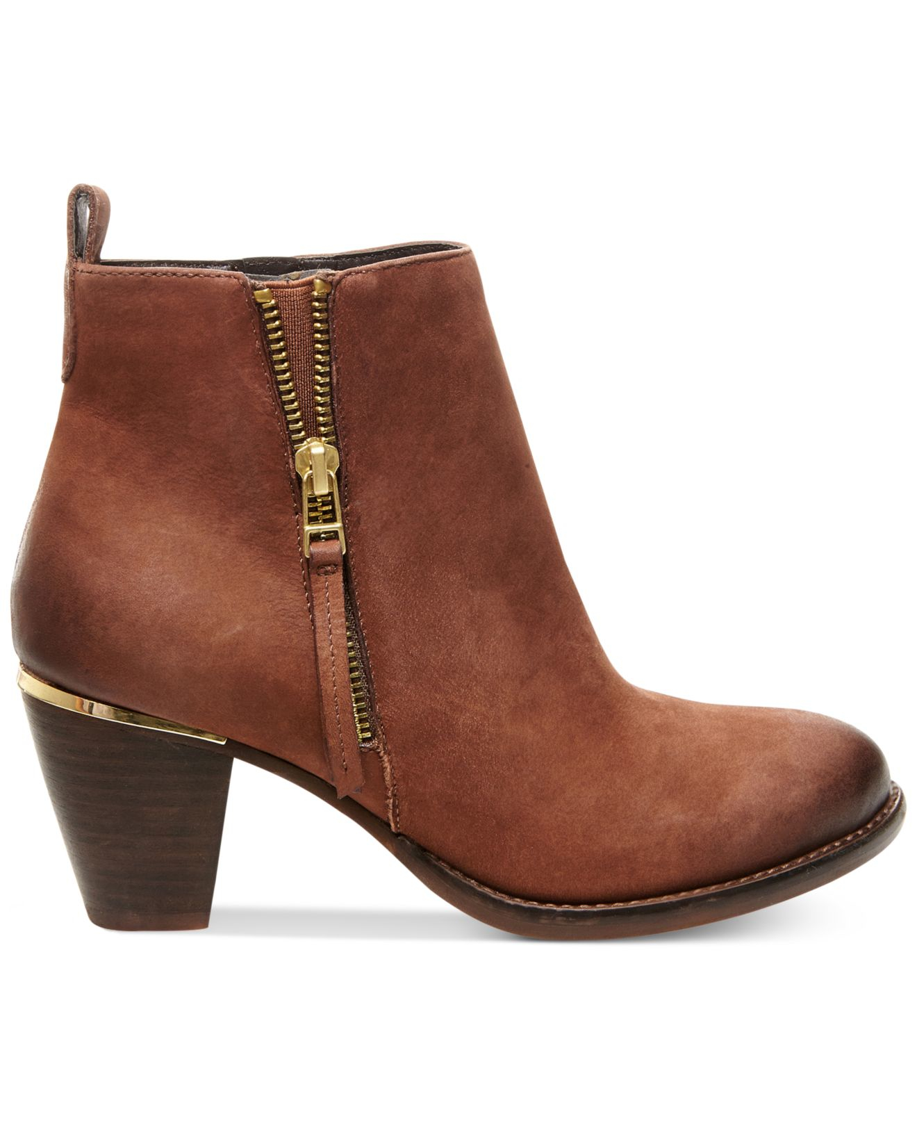 32e2fc99998 Steve Madden Brown Women's Wantagh Ankle Booties