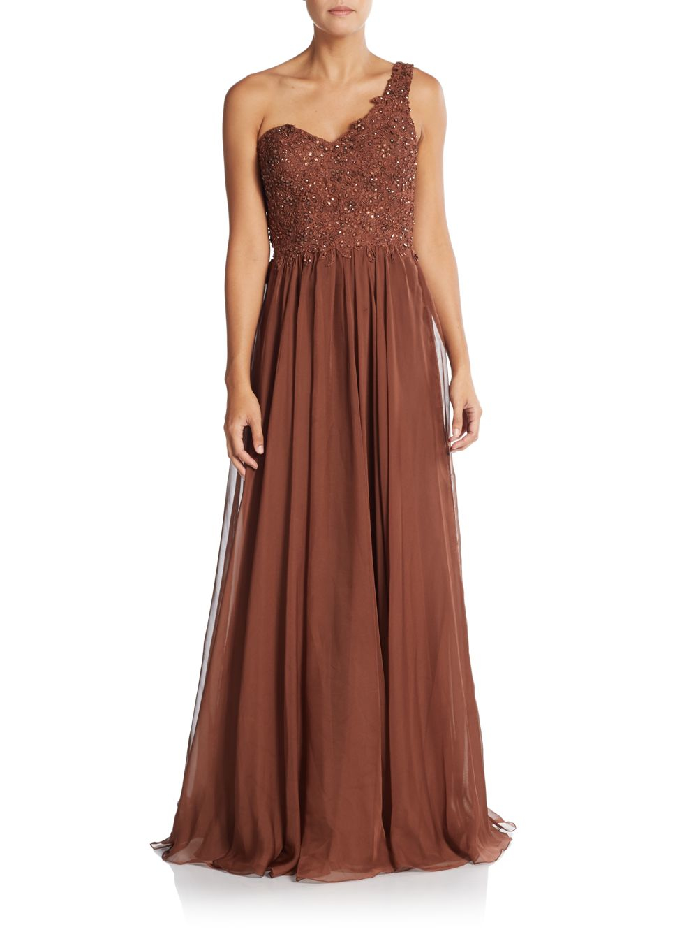 La femme one shoulder dress consider, that