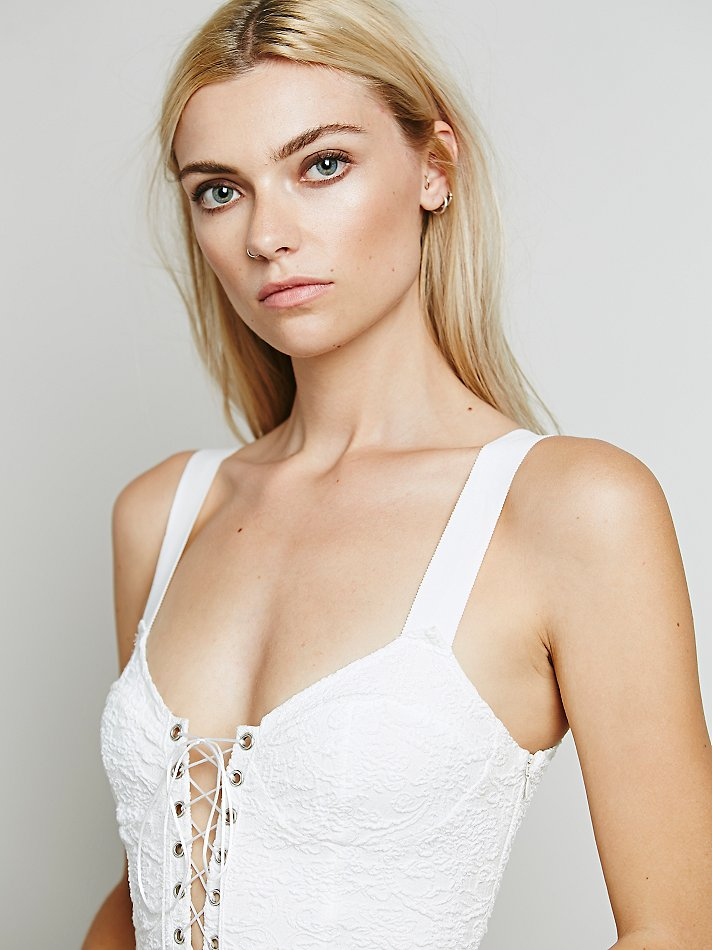 4a8b4a1fc5ecf Lyst - Free People Skivvies By For Love & Lemons Womens She's A ...
