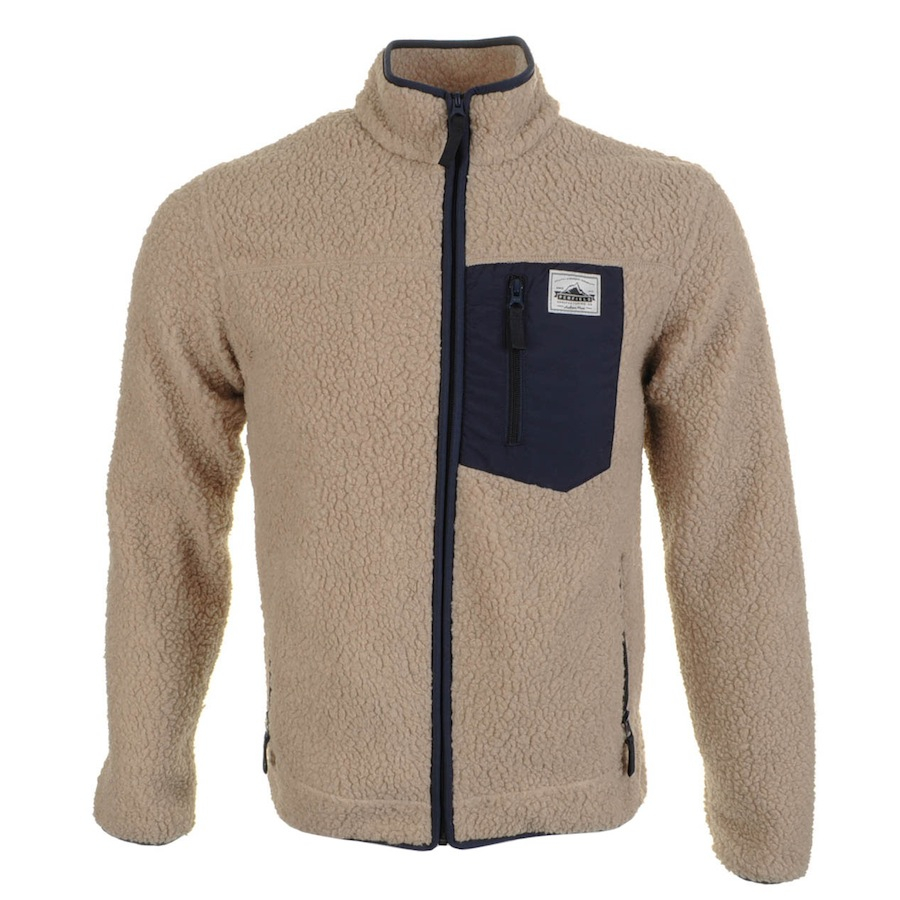 Penfield Lavic Fleece Jacket Tan in Beige (Natural) for Men