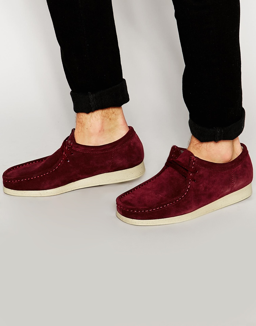 promo code af79d e48a9 Clarks Aerial Wallabee Shoes in Purple for Men - Lyst