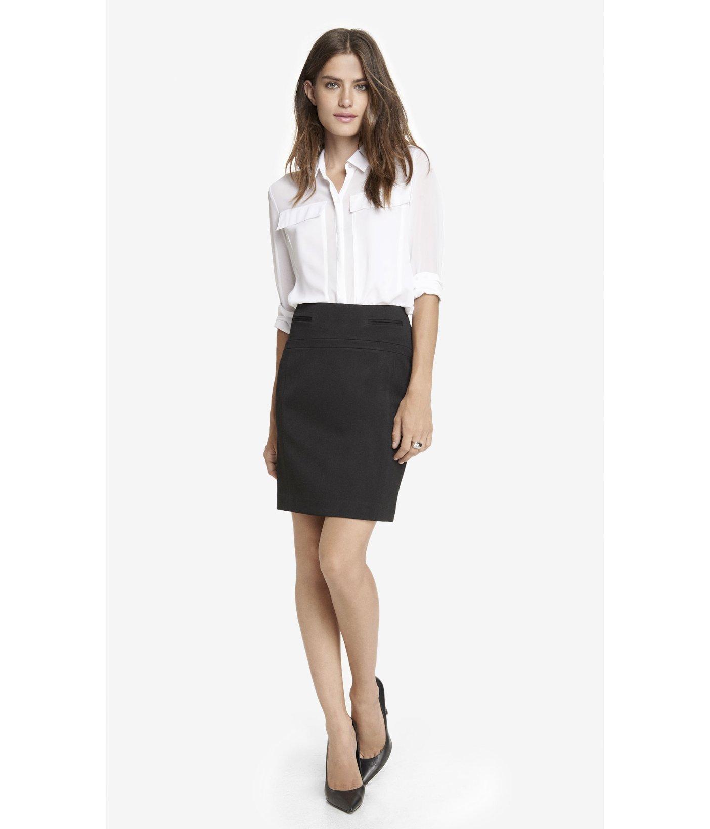 black pencil skirt with pockets dress ala