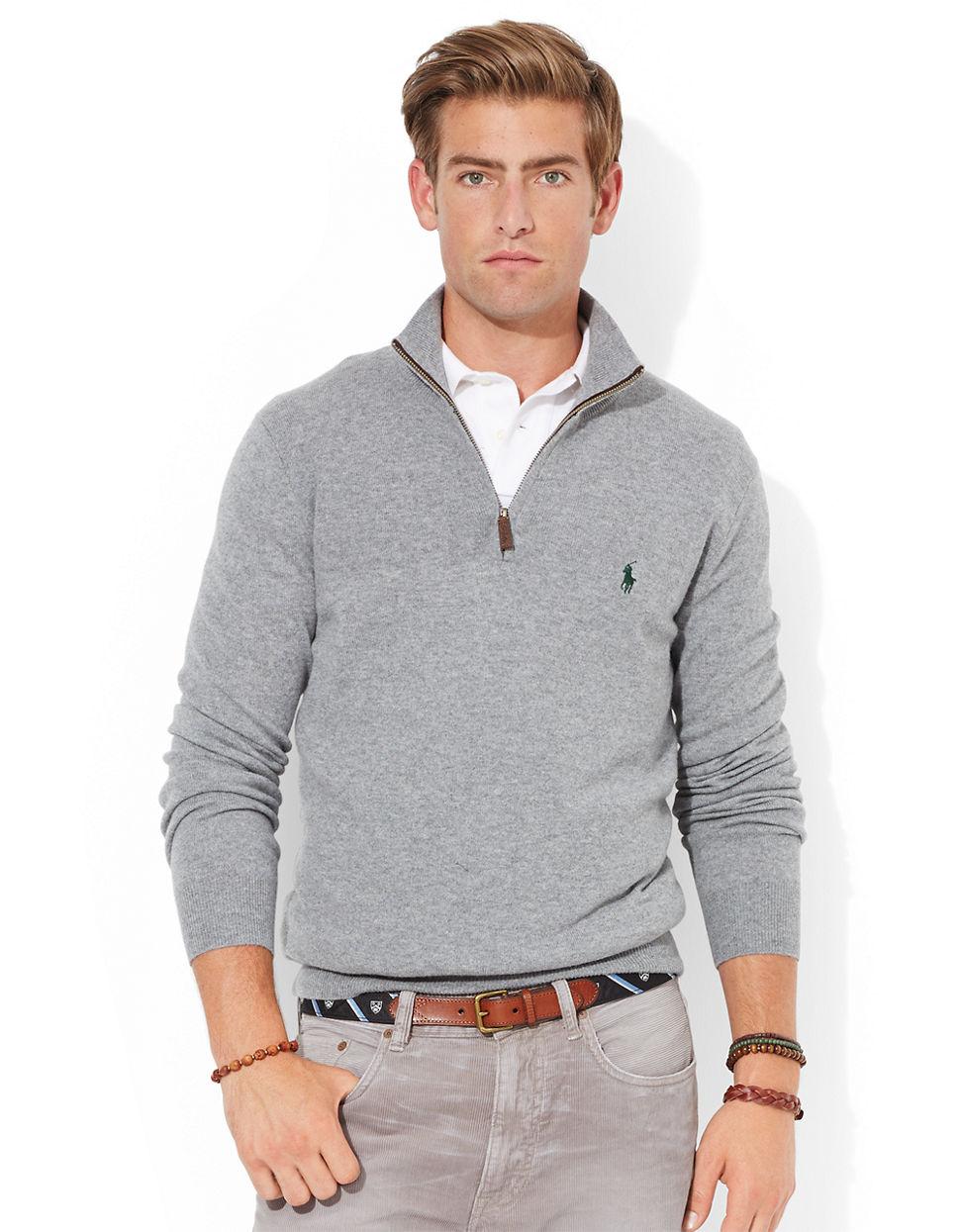 Ralph Lauren Half Zip Sweatshirt Breeze Clothing