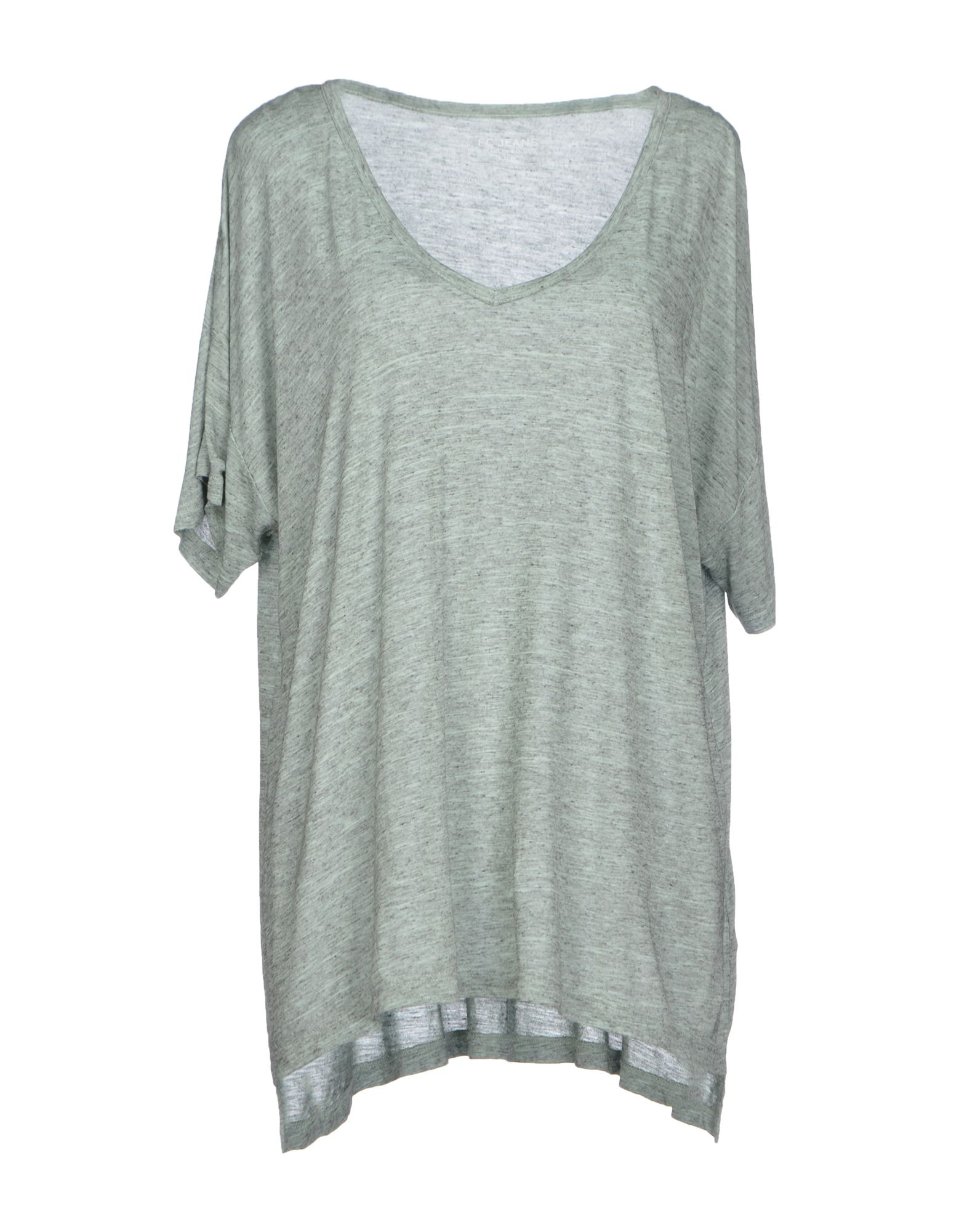 French connection t shirt in gray grey lyst for French connection t shirt dress