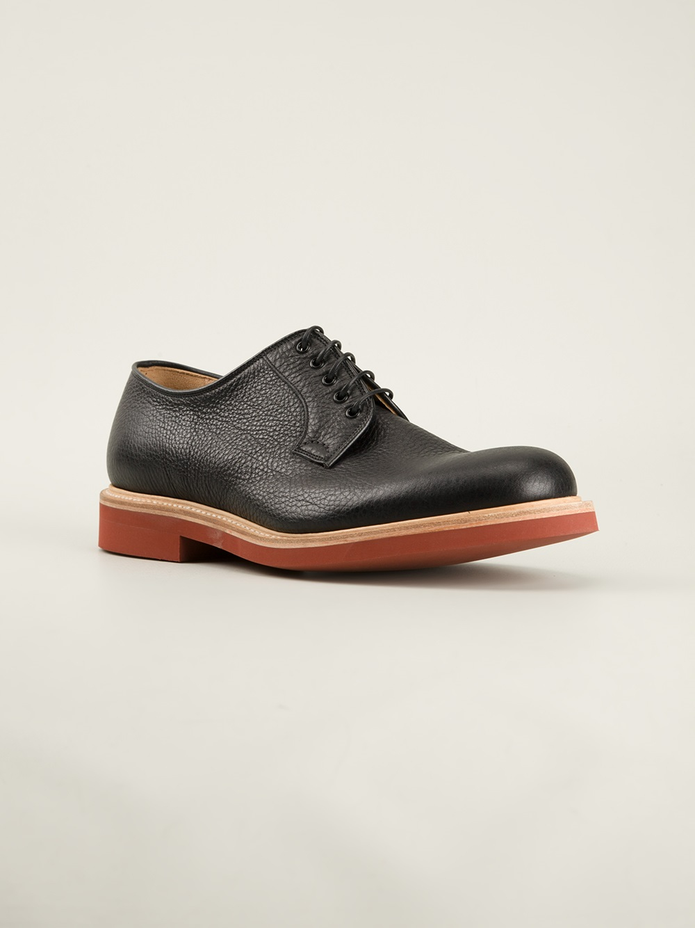 church s derby shoes in black for lyst