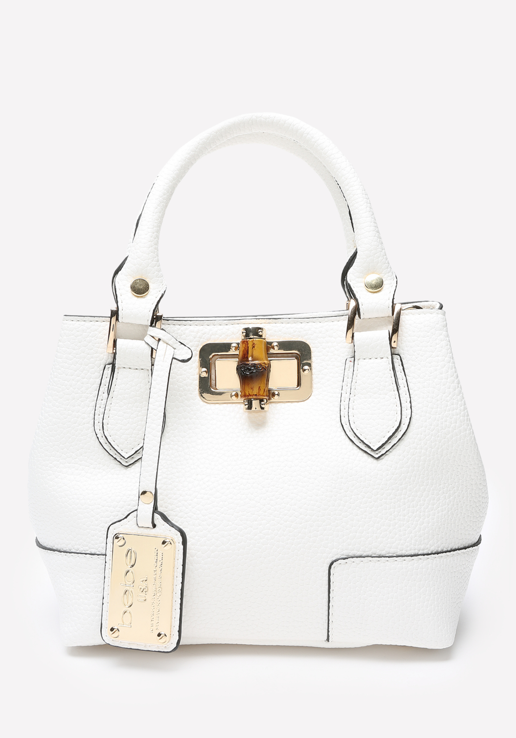 Bebe Jocelyn Crossbody Bag in White