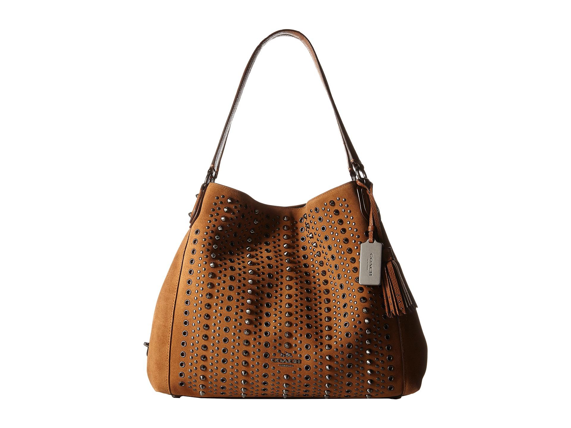 Lyst - Coach Edie 31 Shoulder Bag in Brown